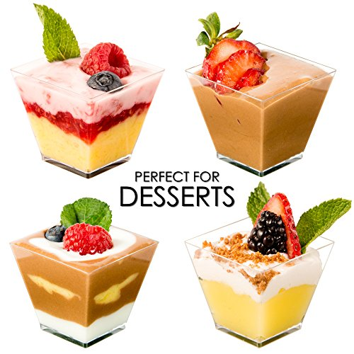 MINI WONDERS CLEAR PLASTIC DESSERT CUPS For Wedding - Hard Clear Disposable Parfait Read Ratings & Reviews · Shop Our Huge Selection · Explore Amazon Devices · Deals of the Day.