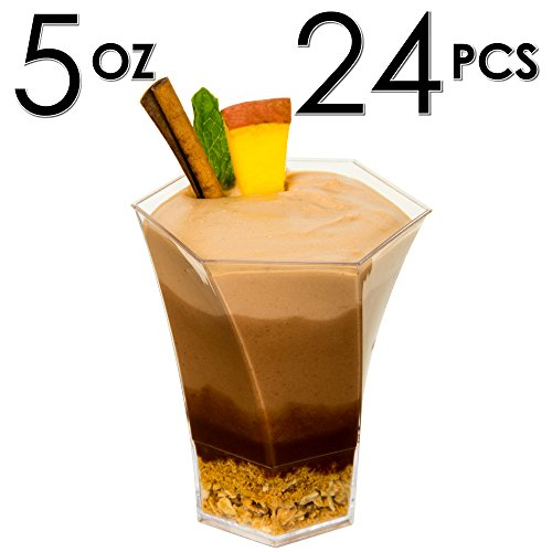 Best Mini Dessert Cups, Sundae Dishes Ice Cream Bowls with Recipe e  DJ59
